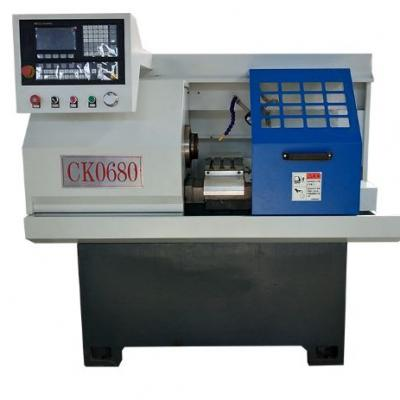 CK0680 Mini metal CNC lathe machine