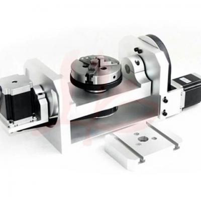 3 Jaw Chuck Mini Table 5 for CNC Milling Machine