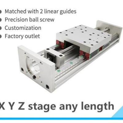 HGR20 Linear Guide Stage Rail Motion Slide